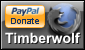 PayPal Donate Timberwolf