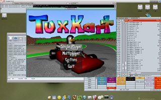 TuxKart Screenshot